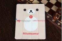 "Чехол-обложка для iPad 2 тематика ""Rilakkuma"" кожаный"
