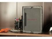 Чехол для Apple iPad 2/3/4 черный кожаный..