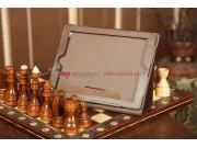 Фирменный чехол-сумка для iPad2/3/4 коричневый кожаный..