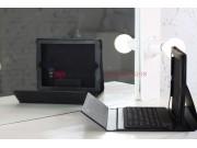Чехол с клавиатурой для iPad2/new iPad 3 черный кожаный..