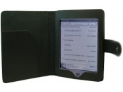 Чехол для Amazon Kindle Touch кожаный черный..