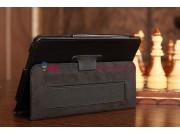 Чехол для Samsung Glaxy Tab 7.0 plus P6200 черный кожаный..