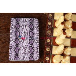 """Чехол для Samsung Galaxy Tab 2 7.0 P3100 """"змеиная кожа"""" фиолетовый"""