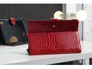 Чехол для Samsung 8.9 P7300 кожа крокодила красный..