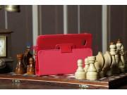 Чехол для Samsung 7.0 P6200 красный кожаный..