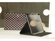 Чехол для Samsung Galaxy Tab 2 10.1 P5100 черно-розовый далматинец..