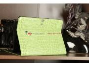 Чехол для Samsung Galaxy Tab 2 10.1 P5100 кожа крокодила зеленый..
